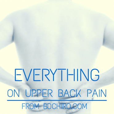Everything you need to Know about Upper Back Pain
