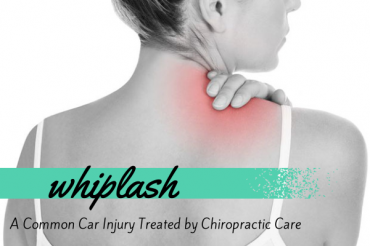 whiplash car injury chiropractic care